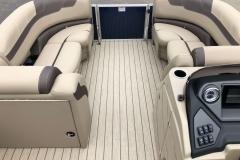 Interior Bow Layout of a 2020 Sylvan L3 LZ Pontoon 2