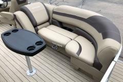 Starboard Side Aft Seating of a 2020 Sylvan L3 LZ Pontoon