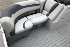 Starboard Side Bow Seating of a 2020 Sylvan L3 LZ Pontoon