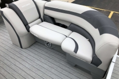 Port Side Bow Seating of a 2020 Sylvan L3 LZ Pontoon