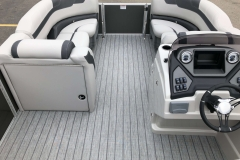 Interior Bow Layout of a 2020 Sylvan L3 LZ Pontoon 3