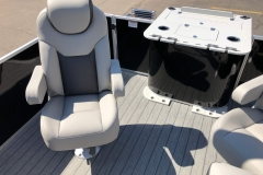 High Back Fishing Chair of a 2020 Sylvan L3 Party Fish Pontoon