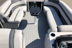 Interior Bow Layout of a 2020 Sylvan L3 Party Fish Pontoon