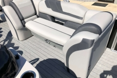 Party Fish Lounge Seating of a 2020 Sylvan L3 Party Fish Pontoon