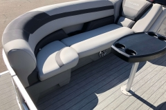 Starboard Side Bow Seating of a 2020 Sylvan L3 Party Fish Pontoon