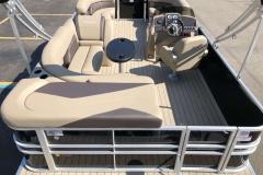 Interior Layout of a 2021 Sylvan 8520 Cruise Pontoon