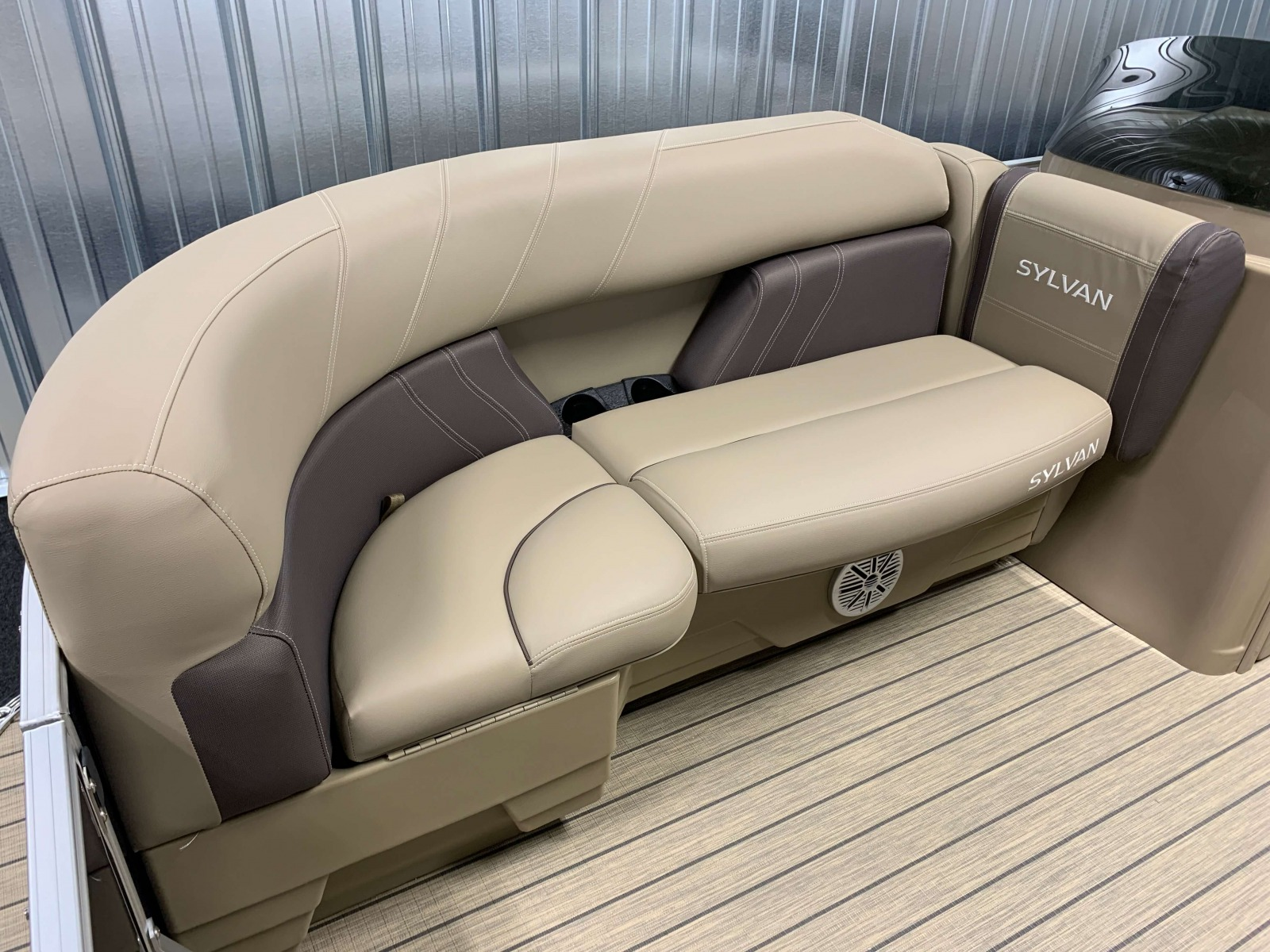 Starboard Side Bow Seating of a 2020 Sylvan Mirage 8520 Cruise Pontoon