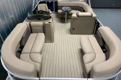 Interior Layout of a 2020 Sylvan Mirage 8520 Cruise Pontoon 1