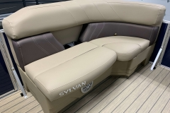 Port Side Bow Seating of a 2020 Sylvan Mirage 8520 Cruise Pontoon