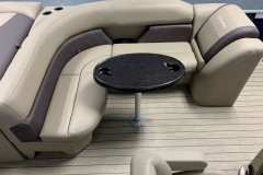 Wraparound Seating of a 2020 Sylvan Mirage 8520 Cruise Pontoon