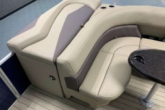 Rear Sunpad of a 2020 Sylvan Mirage 8520 Cruise Pontoon