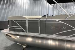 Carbon Exterior of a 2020 Sylvan Mirage 8520 Cruise Pontoon