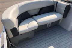 Starboard Side Bow Seating of a 2020 Sylvan Mirage 8520 Cruise-N-Fish Pontoon