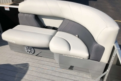 Port Side Bow Seating of a 2020 Sylvan Mirage 8520 Cruise-N-Fish Pontoon