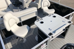 Aft Fishing Station of a 2020 Sylvan Mirage 8520 Cruise-N-Fish Pontoon