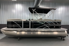 "25"" Pontoon Logs of a 2021 Sylvan Mirage 8520 Cruise Tritoon Boat"