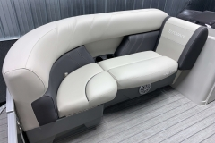 Starboard Side Bow Seating of a 2020 Sylvan Mirage 8520 Cruise Tritoon