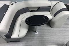 Wraparound Seating of a 2020 Sylvan Mirage 8520 Cruise Tritoon