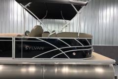 D-Rail Panel Design of a 2021 Sylvan Mirage 8520 LZ Tritoon Boat