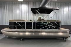 "25"" Tritoon Logs of a 2021 Sylvan Mirage 8520 LZ Tritoon Boat"