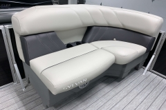 Port Side Bow Seating of a 2020 Sylvan Mirage 8520 LZ Tritoon Boat