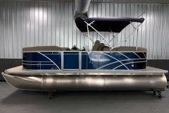 "25"" Tritoon Logs of a 2020 Sylvan Mirage 8520 LZ Tritoon Boat"