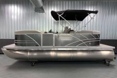 "25"" Pontoon Logs of a 2021 Sylvan Mirage 8520 LZ Tritoon Boat"
