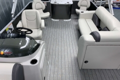 Versatile Layout of a 2021 Sylvan Mirage 8520 Party Fish Pontoon Boat
