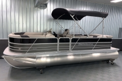 "25"" Pontoon Logs of the 2021 Berkshire 22CL LE Pontoon Boat"