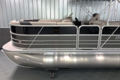 Two-Tone Panel Design of the 2021 Berkshire 22CL LE Pontoon Boat