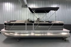 Easy Fold 10' Bimini Top of the 2021 Berkshire 22CL LE Pontoon Boat