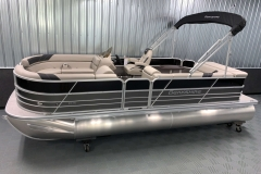 Interior/Exterior Design of the 2021 Berkshire 22CL LE Pontoon Boat