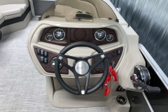 Bluetooth Clarion Stereo of the 2021 Berkshire 22CL LE Pontoon Boat