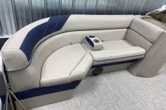 Portable Cupholders on the 2021 Berkshire 24RFX LE Pontoon Boat