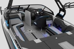 GatorStep Deck and Floor Kit on the 2021 Moomba Craz Wake Boat