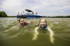Family Lifestyle on the 2021 Moomba Craz Wake Boat