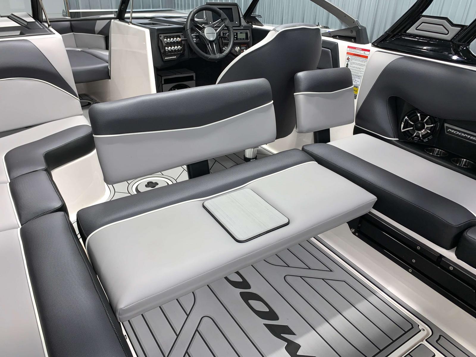 Rear Facing Seat of the 2021 Moomba Craz Wake Boat