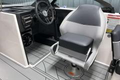 Helm Chair Bolster of the 2021 Moomba Craz Wake Boat