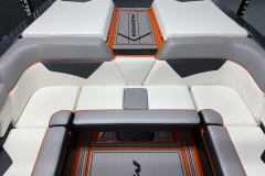 Rear Interior Layout of the 2021 Moomba Kaiyen Wake Boat