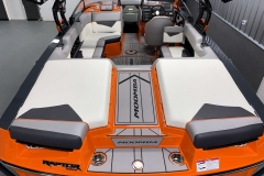 Transom Walkthrough Design of the 2021 Moomba Kaiyen Wake Boat