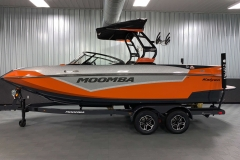 Custom Boatmate Trailer of the 2021 Moomba Kaiyen Wake Boat
