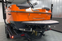 Flow 2.0 Surf System of the 2021 Moomba Kaiyen Wake Boat