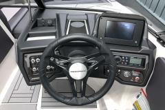 Helm of the 2021 Moomba Max Wake Boat