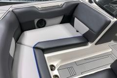 Interior Bow Seating of the 2021 Moomba Max Wake Boat