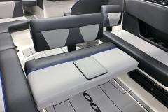 Rear Bench Seat of the 2021 Moomba Max Wake Boat