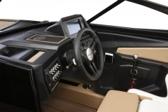 Wireless Cellphone Charging Pad on a Moomba Mojo Wake Boat
