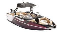 A3 Premium Bimini Top on a Moomba Mojo Wake Boat