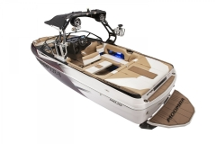 Standard Transom Walk-Across on a Moomba Mojo Wake Boat