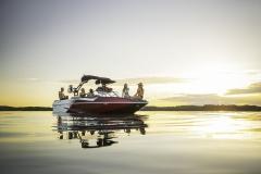16 Passenger Capacity on a Moomba Max Wake Boat