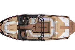 Seating Configuration of a Moomba Mojo Wake Boat